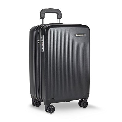 Briggs & Riley Sympatico Carry-On Cx Spinner, Black
