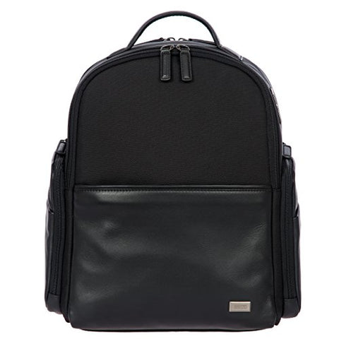 Bric's Monza Medium Laptop|Tablet Business Backpack Black, One Size