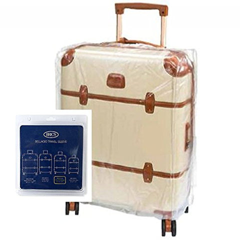"Bric'S Luggage Bellagio Spinner Transparent Cover (21"" Cover, Clear)"