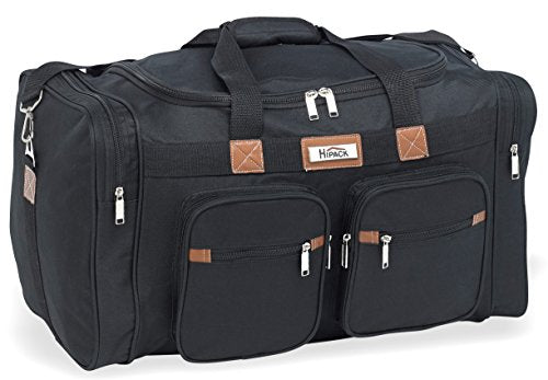 HiPack E-Z Carry Tote Bag Duffel 22Inch Black