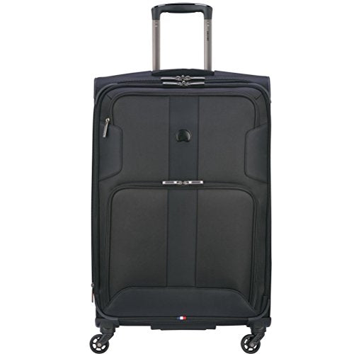 Shop Delsey Luggage Sky Max 25 Quot Expandable Spinner Upright Black Luggage Factory