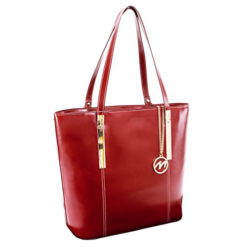 McKleinUSA CRISTINA 97546 Red Leather Women's Business Tote