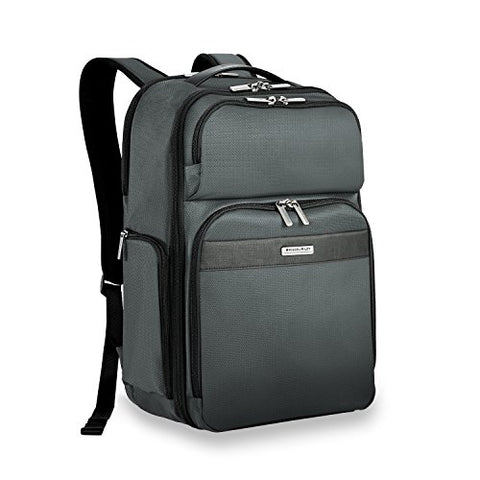Briggs & Riley Transcend Cargo Backpack, Slate