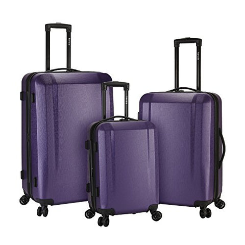 Kensie Luggage Kensie 3-Piece Expandable Hardside Luggage Set, Purple