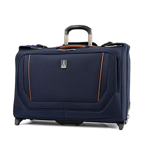 Travelpro Crew Versapack Carry-on Rolling Garment Bag, Patriot Blue