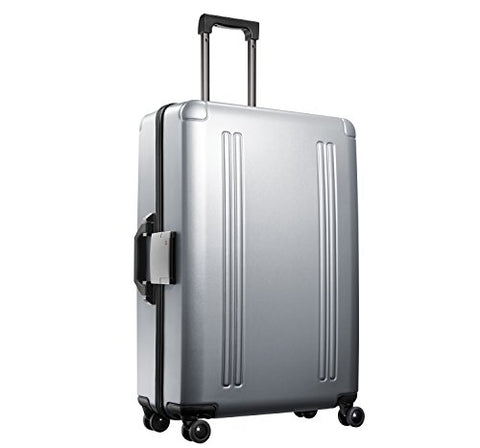 "Zero Halliburton Zro-28"" 4-Wheel Spinner Travel Case, Silver"