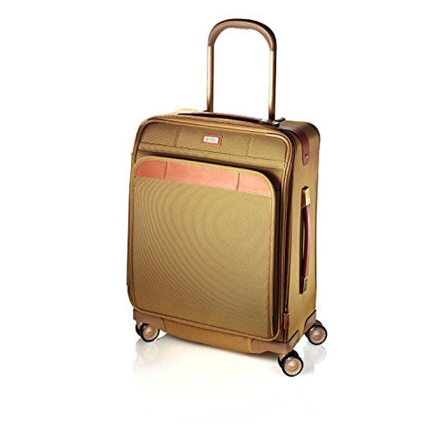 Hartmann Ratio Classic Deluxe Domestic Carry On Glider, Nylon Spinner Luggage In Safari