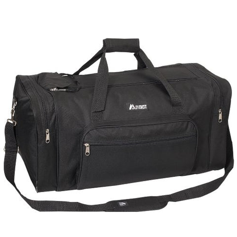 Everest Luggage Classic Gear Bag - Medium, Black, Black, One Size