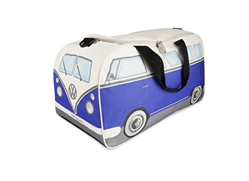 Vw Collection By Brisa Vw Bus T1 Sport And Travel Bag Daypack (Blue/Beige)