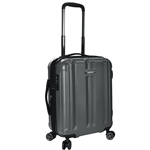 "Traveler's Choice La Serena 21"" Spinner Luggage, Grey"