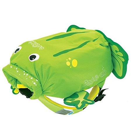 Trunki Paddlepak Water-Resistant Backpack - Ribbit The Frog (Green)
