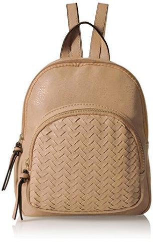 Bueno Of California Women'S Woven Backback, Camel