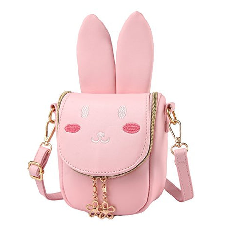 Sealinf Child Girl Small Cross Body Purse Pu Leather Kid Shoulder Bag 3 To 6 Years (Pattern 25)