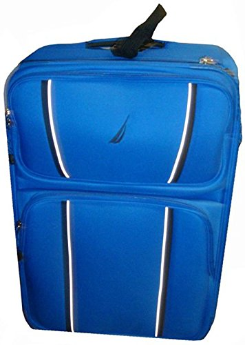 Nautica Mens Luggage Starboard 25 Inch Expandable Upright Bag Blue