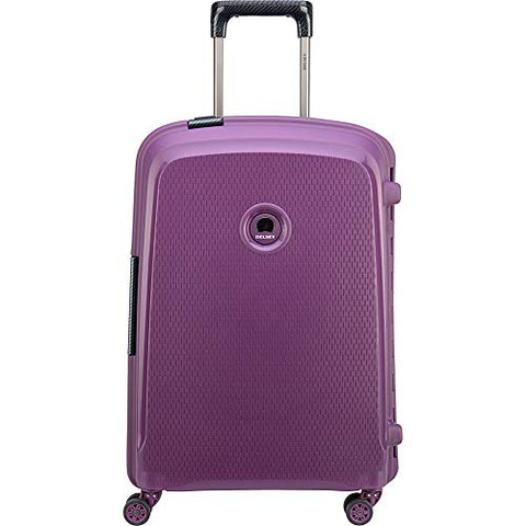 Delsey Luggage Belfort DLX Spinner Carry-on, Purple