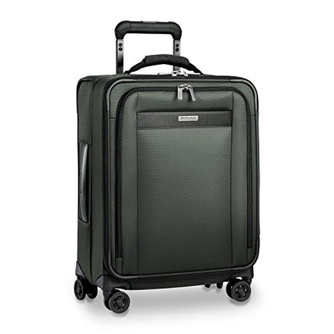 "Briggs & Riley Transcend Wide Carry-On Expandable 21"" Spinner, Rainforest"