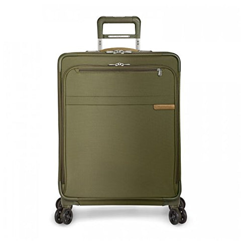 "Briggs & Riley Baseline Medium Expandable 25"" Spinner, Olive, One Size"