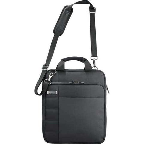 "Kenneth Cole Vert Checkpoint-Friendly 15"" Laptop Messenger Bag- Black"
