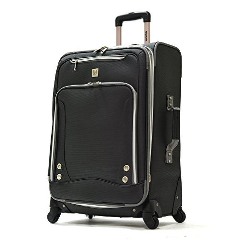 "Olympia American Airline 22"" Skyhawk Expandable Carry-On, Suitcase In Black"