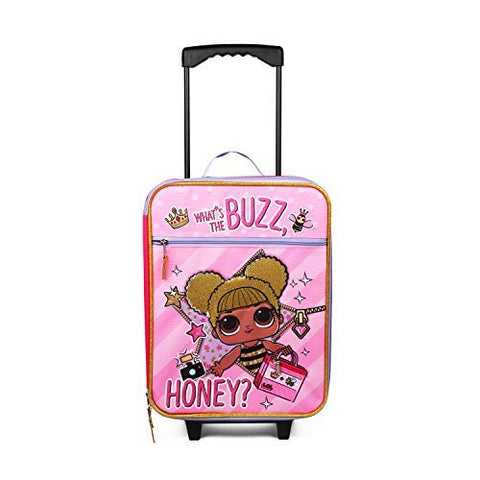 Fab Starpoint LOL Surprise Buzz Honey Pink Pilot Case Luggage
