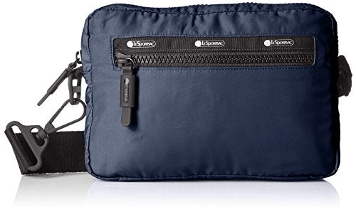 LeSportsac Women's Travel Convertible Belt Bag, Classic Navy T