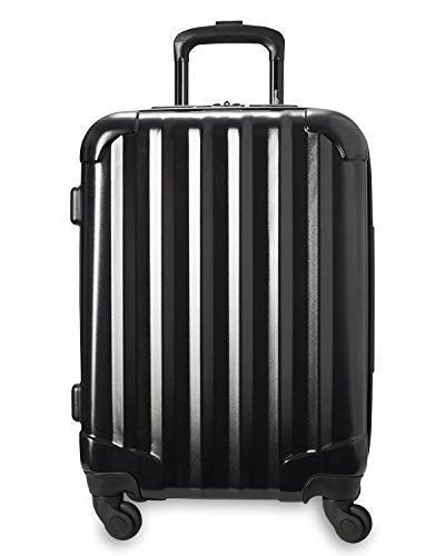 "Genius Pack 21"" Aerial Hardside Carry On Luggage Spinner - Smart, Organized, Lightweight Suitcase"