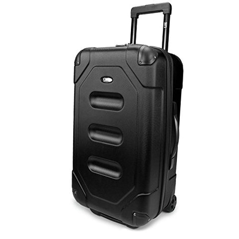 "Long Haul 24"" Cargo Trunk Suitcase Color: Midnight Black"