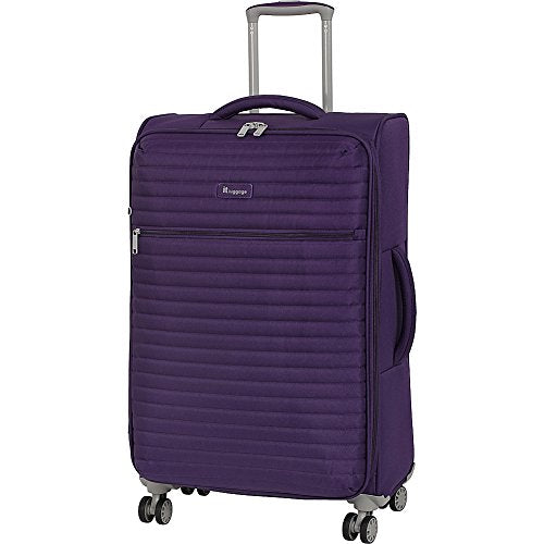 "It Luggage 27.4"" Quilte Lightweight Expandable Spinner, Petunia"