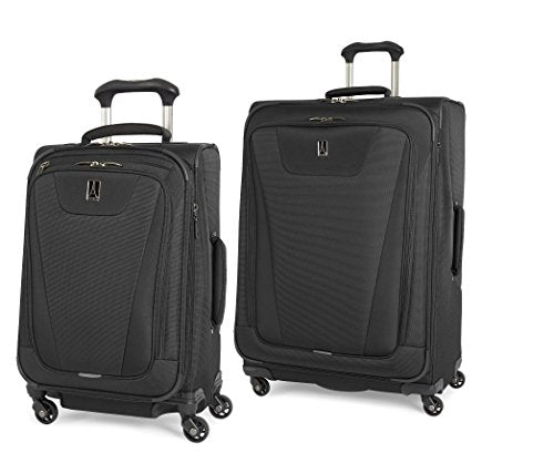 Travelpro Maxlite 4 2 Piece Set Of 21 And 29 Spinner (Black)