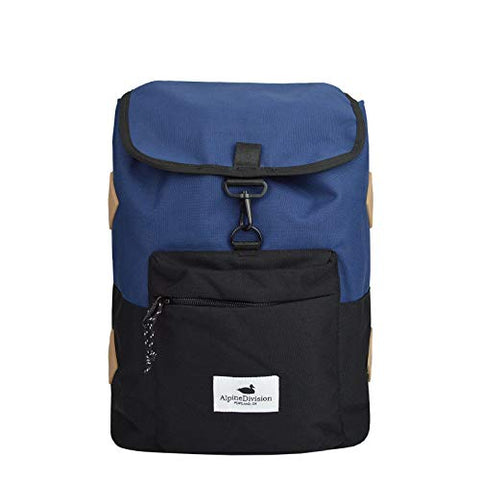 Alpine Division Rockaway Backpack - Navy