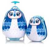 "Travel Tots 18"" Luggage with Backpack-Blue Jay-O/S"