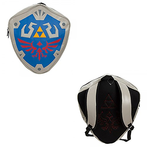 Nintendo Zelda Shield 3D Backpack 16 X 19In