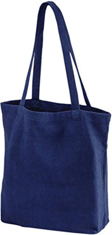 Zuzify Eco-Friendly Recycled Cotton Tote Bag. Lw1096 Os Nautical