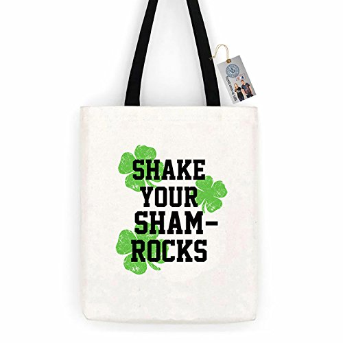 Shake Your Shamrocks ShirtCotton Canvas Tote Bag Day Trip Bag Carry All
