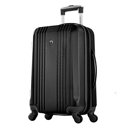 "Olympia Apache Ii 21"" Carry-on Spinner, Black+Black"