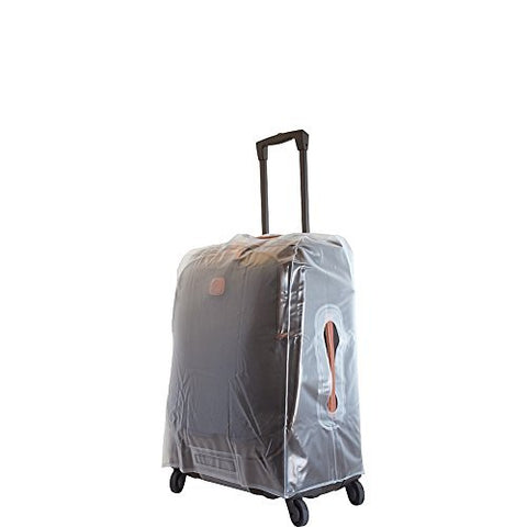 Bric's Protective Capri|riccione 21 Inch Carry On Spinner Suitcase Cover, Clear