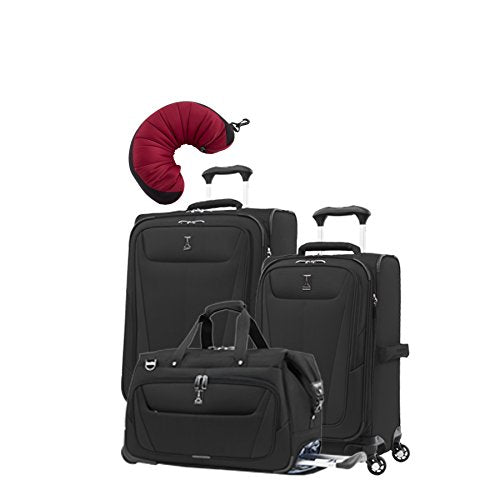 "Travelpro Maxlite 5 | 4-Pc Set | Carry-On Duffel, 21"" Carry-On & 25"" Exp. Spinners With Travel"