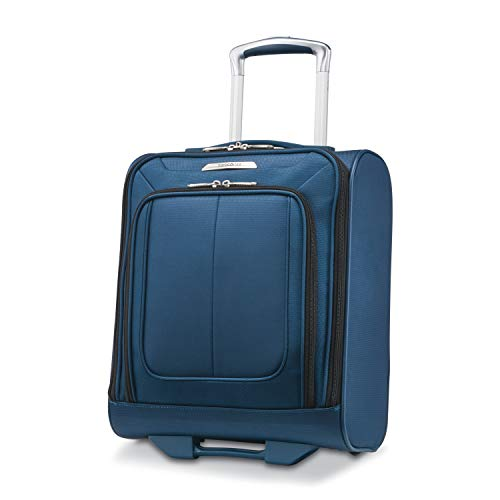 Samsonite SoLyte DLX Underseat Wheeled Carry-On (Mediterranean Blue)