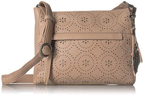 The Sak The Alameda Crossbody-Mandala Perf, Barley Perforated