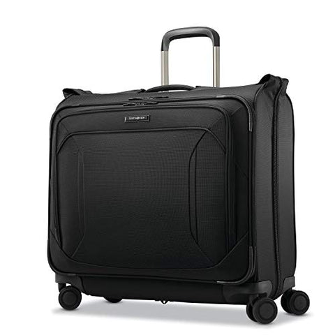 Samsonite Lineate Duet Wheeled Garment Bag, Obsidian Black