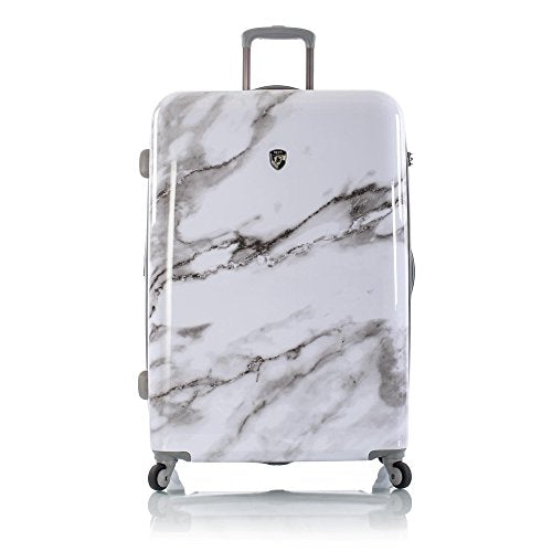 "Heys Carrara White Marble 30"" Fashion Spinner"