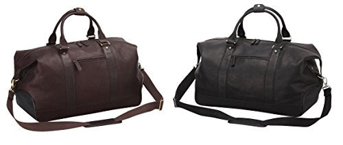 Bellino Eiffel Leather Duffle, Brown