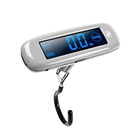 Heys International 30068-0002-00 xScale Touch Luggage Scale44; Silver