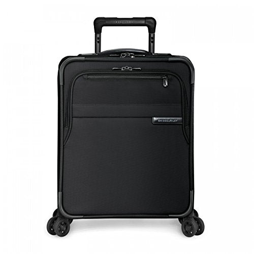 "Briggs & Riley Baseline Commuter Expandable 19"" Spinner, Black, One Size"
