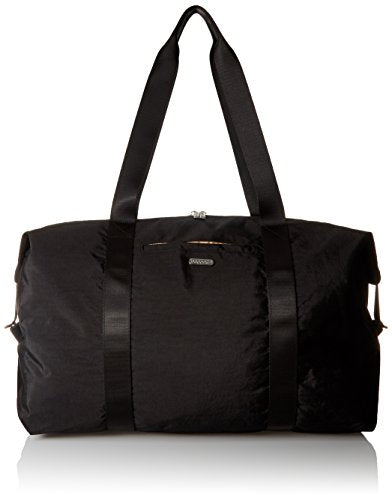 Baggallini Large Travel duffel Bag, Black/Sand, One Size