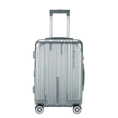 "TPRC 20"" ""Nurmi Collection"" Premium 8-Wheel Carry-On Luggage with TSA Lock System"