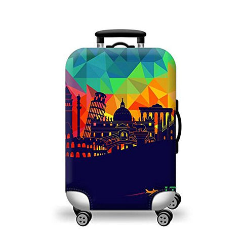 Tdc Elastic Luggage Suitcase Cover Super Dustproof Luggage Protector