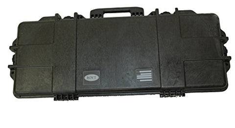 Boyt Harness H36Sg Single Takedown/Tactical Hard Gun Case, Black, 36.5 X 13.5 X 4.5""