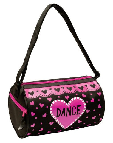 Dansbagz Love Dance Duffel Bag One Size Black