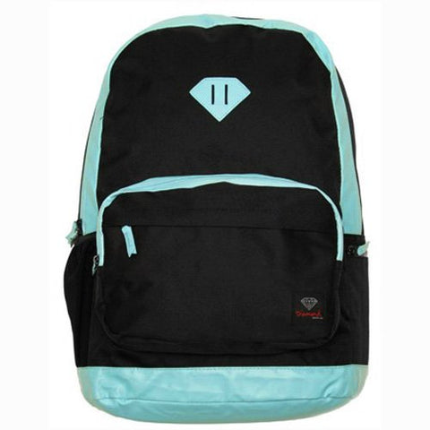 Diamond Supply Co. School Life Backpack - Black/Diamond Blue